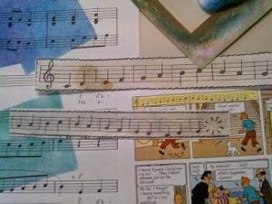 art supplies close-up