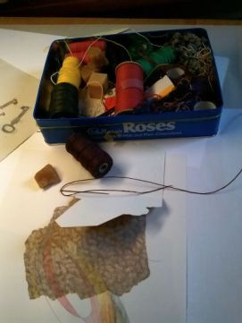 linen thread & binding materials
