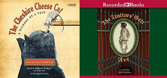 Audio book covers