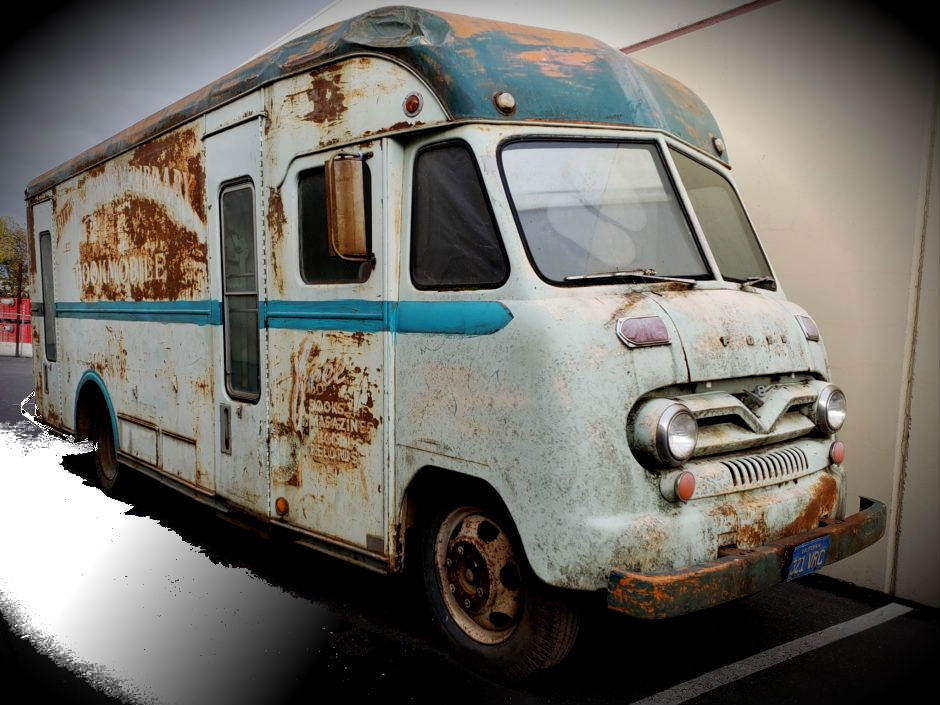 1957 Ford Vanette Bookmobile by Gerstenslager Project