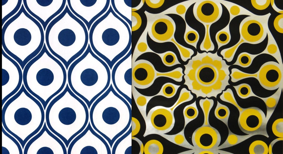two wallpaper styles